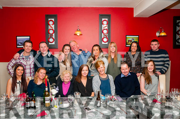 Birthday Party : Annette Browne, Listowel celebrating her birthday with family & friends at Eabha Joan's Restaurant, Listowel on Saturday night last.