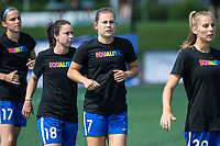 Boston, MA - Saturday June 24, 2017: Tiffany Weimer and Emilie Haavi during a regular season National Women's Soccer League (NWSL) match between the Boston Breakers and the North Carolina Courage at Jordan Field.