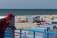 France, Pas-de-Calais (62), Côte d'Opale, Boulogne-sur-Mer: La Plage   //  France, Pas de Calais, Cote d'Opale (Opal Coast), Boulogne sur Mer, The beach