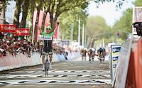 Maarten Tjallingii (NLD) wins stage 2<br /> <br /> 2nd World Ports Classic 2013<br /> stage 2: Rotterdam  (NLD) - Antwerpen (BEL)<br /> 191km