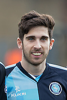 Max Kretzschmar of Wycombe Wanderers during the Sky Bet League 2 match between Wycombe Wanderers and Bristol Rovers at Adams Park, High Wycombe, England on 27 February 2016. Photo by Andy Rowland.