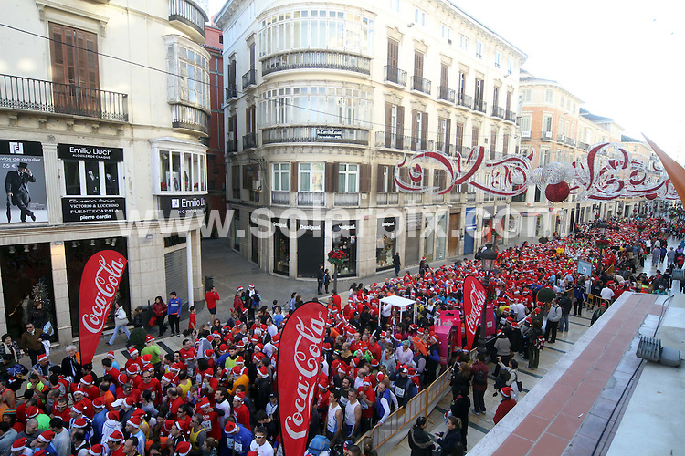 **ALL ROUND PICTURES FROM SOLARPIX.COM**                                             **WORLDWIDE SYNDICATION RIGHTS EXCEPT SPAIN & SOUTH AMERICA - NO SYNDICATION IN SPAIN OR SOUTH AMERICA**                                                                                  Caption: The people of Malaga face the relative cold of the morning to run the 9th San Silvestre run, A 5 kilometre fancy dress run around the central streets of Malaga, Spain. Starting at 10am in the city's most popular shopping street - Calle Larios - the run has prizes for the best times and best costumes that finish the course, and all the entrants are entered into a prize draw for a four-day trip to Marrakech. Malaga, Spain. 26 December 2010                                                                            This pic: Malaga Fancy dress run                                                                                             JOB REF: 12617 MPA       DATE: 26_12_2010                                                            **MUST CREDIT SOLARPIX.COM OR DOUBLE FEE WILL BE CHARGED**                                                                      **MUST AGREE FEE BEFORE ONLINE USAGE**                               **CALL US ON: +34 952 811 768 or LOW RATE FROM UK 0844 617 7637**