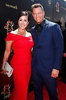 PASADENA - May 5: Lisa Martsolf, Eric Martsolf at the 46th Daytime Emmy Awards Gala at the Pasadena Civic Center on May 5, 2019 in Pasadena, California