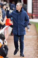 Swansea City manager Steve Cooper walks to the bench prior to the Sky Bet Championship match between Barnsley and Swansea City at Oakwell Stadium, Barnsley, England, UK. Saturday 19 October 2019