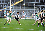 30-11-2014: Ardfert's David Griffin scores a point in the Munster GAA Club Intermediate Football final in Killarney on Saturday.<br /> Picture by Don MacMonagle XXJOB
