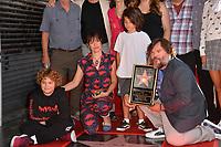 LOS ANGELES, CA. September 18, 2018: Jack Black & wife Tanya Haden & sons Samuel & Thomas at the Hollywood Walk of Fame Star Ceremony honoring actor Jack Black.