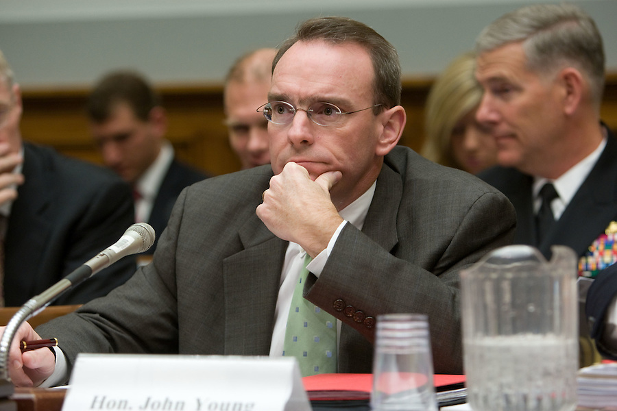 Slug: MRAP/Commitee Hearing.Date: 11-08-2007.Photographer: Mark Finkenstaedt.Location: 2118 Rayburn House Office Building.Caption:  The Seapower and Expeditionary Forces and Air and Land Forces Subcommittees  meet to receive testimony on the Joint Mine Resistant Ambush.Protected (MRAP) Vehicle Program..Mr. Archie Massicotte. President: International Military and Government, LLC....© 2007 Mark Finkenstaedt. All Rights Reserved. One year PR, Media outreach, No advertising/Paid Placement. No Annual Report. For additional use call the photographer..2022582613.mark@mfpix.com.