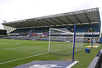 General view of the ground ahead of Millwall vs Swansea City, Sky Bet EFL Championship Football at The Den on 30th June 2020