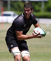 Stephan Lewies during the cell c sharks pre season training session at  Growthpoint Kings Park ,22,01,2018 Photo by Steve Haag)