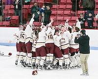 Boston College vs Northeastern University, March 5, 2017