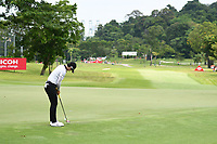 SINGAPORE - FEBRUARY 01: Sung Hyun Park of South Korea on the 11th green during the second round of the HSBC Women's World Championship 2019 at Sentosa Golf Club - Tanjong Course, Singapore on March 01, 2019.<br /> .<br /> .<br /> .<br /> (Photo by: Naratip Golf Srisupab/SEALs Sports Images)<br /> .<br /> Any image use must include a mandatory credit line adjacent to the content which should read: Naratip Golf Srisupab/SEALs Sports Images