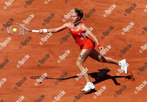 2010-05-24 / Tennis / Roland Garros 2010 / Day 2 / Stefanie Voegele (SUI)..Foto: mpics
