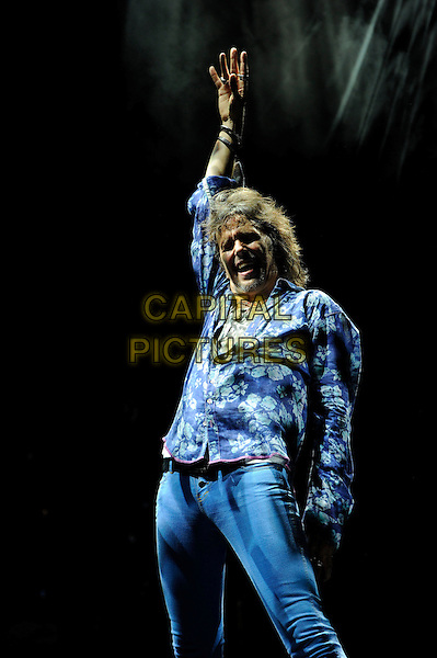 LONDON, ENGLAND - APRIL 13: Kelly Hansen of Foreigner performing at the Eventim Apollo on April 13, 2014 in London, England.<br /> CAP/MAR<br /> &copy; Martin Harris/Capital Pictures