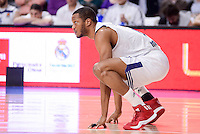 Real Madrid's Anthony Randolph during Turkish Airlines Euroleague match between Real Madrid and CSKA Moscow at Wizink Center in Madrid, Spain. January 06, 2017. (ALTERPHOTOS/BorjaB.Hojas)