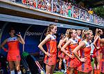 Den Bosch  -  Debutant in het grote Oranje, Felice Albers (Ned) ,    voor  de Pro League hockeywedstrijd dames, Nederland-Belgie (2-0).  COPYRIGHT KOEN SUYK