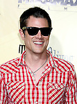 "HOLLYWOOD, CA. - August 24: Johnny Knoxville arrives at the Los Angeles premiere of ""Extract"" at the ArcLight Hollywood on August 24, 2009 in Hollywood, California."