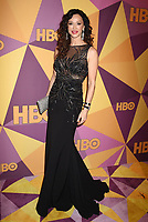 BEVERLY HILLS, CA - JANUARY 07: Actress Sofia Milos arrives at HBO's Official Golden Globe Awards After Party at Circa 55 Restaurant in the Beverly Hilton Hotel on January 7, 2018 in Los Angeles, California.