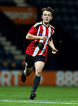 Keegan Burton of Sheffield United U18s during the FA Youth Cup 3rd Round match at Deepdale Stadium, Preston. Picture date: November 30th, 2016. Pic Matt McNulty/Sportimage