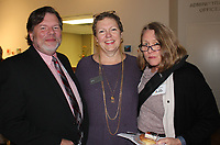 NWA Democrat-Gazette/CARIN SCHOPPMEYER Rick and Laurie Marshall (from left) and Kathryn Sampson attend 5x5.