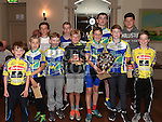 Some of the underage riders who took part in the Mark Mullen League 2016. Photo:Colin Bell/pressphotos.ie