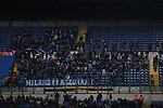 Napoli fans pictured in the third tier during the Coppa Italia match at Giuseppe Meazza, Milan. Picture date: 12th February 2020. Picture credit should read: Jonathan Moscrop/Sportimage