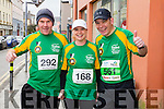Benny Clifford, Anne Sicat and Philip Sicat runners at the Kerry's Eye Tralee, Tralee International Marathon and Half Marathon on Saturday.