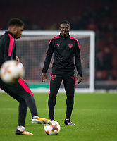 Jordi Osei-Tutu of Arsenal ahead of the UEFA Europa League group stage match between Arsenal and FC Red Star Belgrade at the Emirates Stadium, London, England on 2 November 2017. Photo by PRiME Media Images.