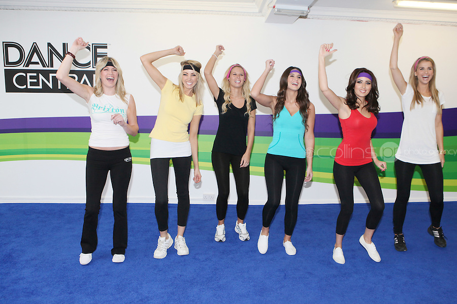 """NO REPRO FEE. ASSETTS MODELS DANCE OFF WITH THE  KINECT FOR Xbox360. Six of Ireland's top models got their groove on at the Kinect Experiential Centre on Grafton Street as they showed off their moves in a dance-off.  Nadia Forde, Suzanne Mc Cabe, Lynne Kelly, Vogue Wilson, Karena Graham and Jenny Lee let loose on the dancefloor to 'Dance Central', with Nadia Forde proving to be the Dancing Queen as she emerged victorious on the day. 'Dance Central' is one of 19 games which will be available on Xbox 360, when Kinect launches on Wednesday 10th November. """"Dance Central"""" is the first controller-free, body tracking, fully-immersive dance video game that helps you take your moves to the next level. Kinect for Xbox 360 makes it possible to play in a whole new way by identifying your movement and body position to create a truly immersive entertainment experience. See a ball? Just kick it. Browse through a menu with the wave of a hand. The countdown to Kinect for Xbox360 has officially begun and consumers have been enjoying Kinect controller free fun at the Experiential Centre on Grafton since the beginning of October Picture James Horan/collins Photos"""