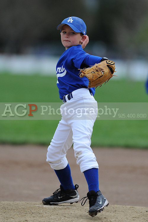 The AA Dodgers of Pleasanton National Little League  March 21, 2009.