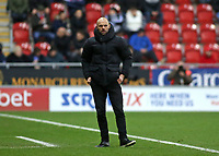 Rotherham United manager Paul Warne  looks on from the touchline<br /> <br /> Photographer David Shipman/CameraSport<br /> <br /> The EFL Sky Bet Championship - Rotherham United v Preston North End - Tuesday 1st January 2019 - New York Stadium - Rotherham<br /> <br /> World Copyright © 2019 CameraSport. All rights reserved. 43 Linden Ave. Countesthorpe. Leicester. England. LE8 5PG - Tel: +44 (0) 116 277 4147 - admin@camerasport.com - www.camerasport.com