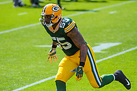 Green Bay Packers linebacker Ahmad Brooks (55) during a National Football League game against the Seattle Seahawks on September 10, 2017 at Lambeau Field in Green Bay, Wisconsin. Green Bay defeated Seattle 17-9. (Brad Krause/Krause Sports Photography)