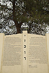 Israel, Southern Coastal Plain, Monument to the battle on Hill 69