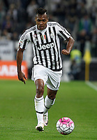 Calcio, Serie A: Juventus vs Lazio. Torino, Juventus Stadium, 20 aprile 2016.<br /> Juventus&rsquo; Alex Sandro in action during the Italian Serie A football match between Juventus and Lazio at Turin's Juventus Stadium, 20 April 2016.<br /> UPDATE IMAGES PRESS/Isabella Bonotto
