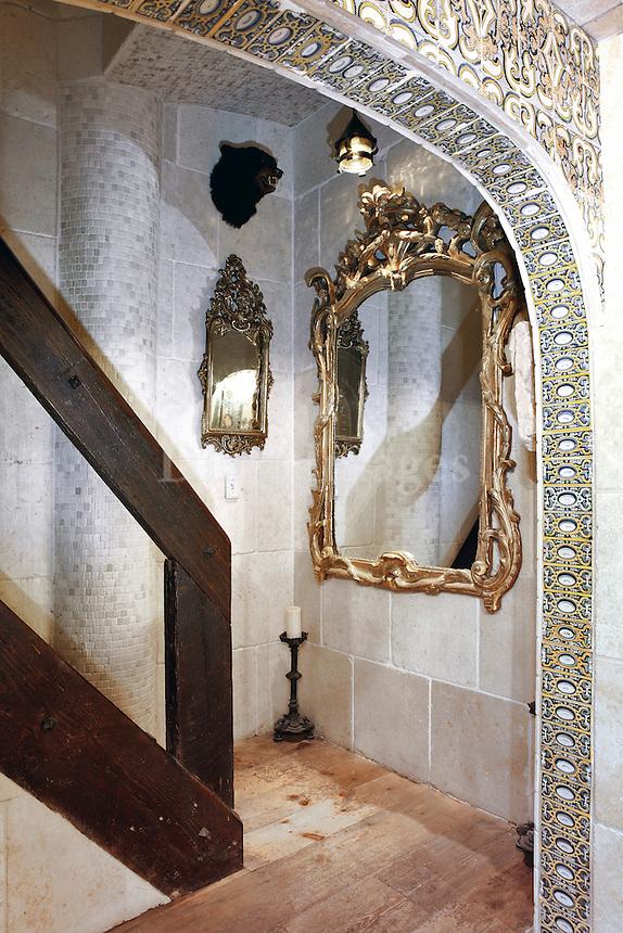gold carved frame