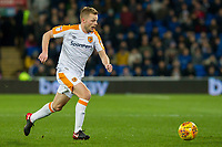 Sebastian Larsson of Hull City during the Sky Bet Championship match between Cardiff City and Hull City at the Cardiff City Stadium, Cardiff, Wales on 16 December 2017. Photo by Mark  Hawkins / PRiME Media Images.