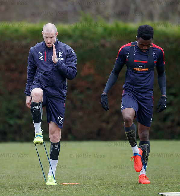 Philippe Senderos and Joe Dodoo