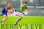 Bryan Sheehan South Kerry in Action against Teddy Doyle Kenmare in the County Senior Football Semi Final at Fitzgerald Stadium Killarney on Sunday.