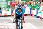 Nelson Oliveira (POR) Movistar Team finishes in 7th place at the end of Stage 6 of La Vuelta 2019 running 198.9km from Mora de Rubielos to Ares del Maestrat, Spain. 29th August 2019.<br /> Picture: Colin Flockton | Cyclefile<br /> <br /> All photos usage must carry mandatory copyright credit (© Cyclefile | Colin Flockton)