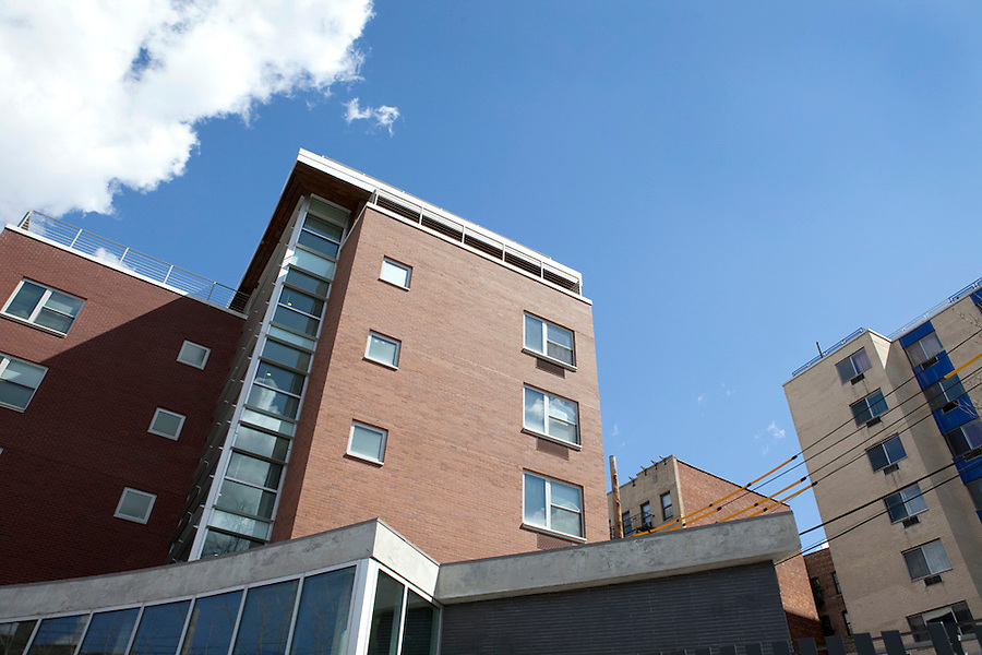 Ford Foundation-funded low-income housing in the Bronx, New York, NY