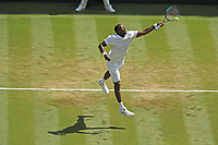 LONDON, ENGLAND - JULY 06: Gael Monfils attend day five of the Wimbledon Tennis Championships at the The All England Lawn Tennis Club on July 6, 2018 in London, England<br /> CAP/MPI122<br /> &copy;MPI122/Capital Pictures