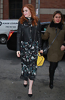 NEW YORK, NY - FEBRUARY 9:  Isla Fisher at Kate Spade - Presentation - February 2018 - New York Fashion Week: The Shows at Masonic Hall in New YorkCity on February 09, 2018. <br /> CAP/MPI/RW<br /> &copy;RW/MPI/Capital Pictures