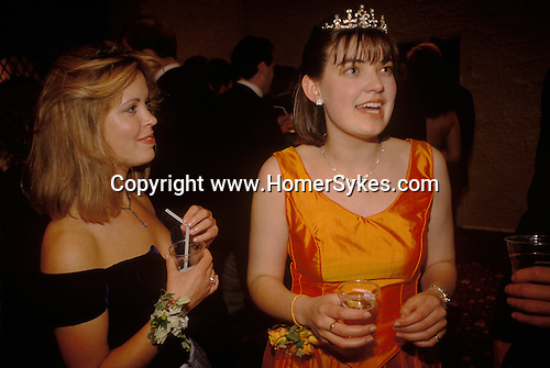 Cirencester Agricultural College  end of year summer May Ball.1980s.