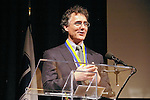 Award winner Thomas J. Dart speaks at the John Jay Justice Award ceremony, April 5 2011.