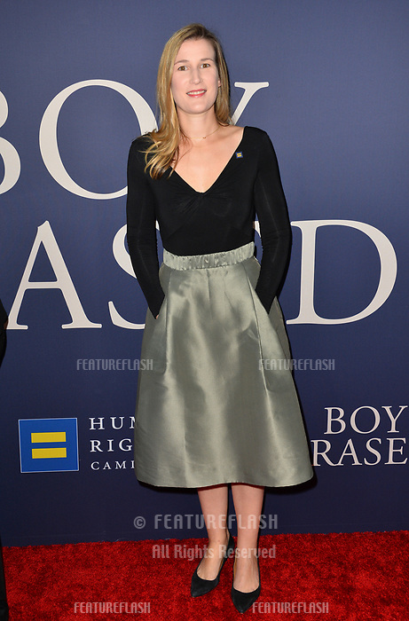 LOS ANGELES, CA. October 29, 2018: Olivia Alair Dalton at the Los Angeles premiere for &quot;Boy Erased&quot; at the Directors Guild of America.<br /> Picture: Paul Smith/Featureflash