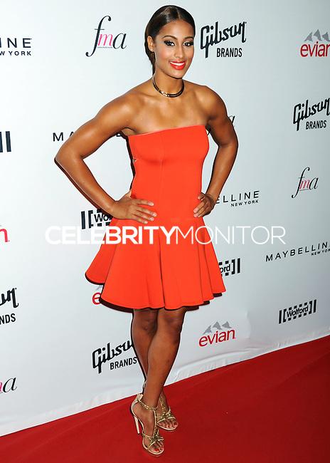 NEW YORK CITY, NY, USA - SEPTEMBER 05: Skylar Diggins arrives at the 2nd Annual Fashion Media Awards held at the Park Hyatt on September 5, 2014 in New York City, New York, United States. (Photo by Celebrity Monitor)