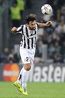 Andrea Pirlo Juventus  Torino 05/11/2013  Juventus Stadium UEFA Champions League 2013/2014  Football Calcio Juventus - Real Madrid  Foto Giorgio Perottino / Insidefoto