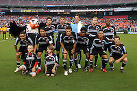 DC United Starting eleven. DC United defeated the New York Red Bulls 3-1 at RFK Stadium in Washington DC, Thursday August  22, 2007.