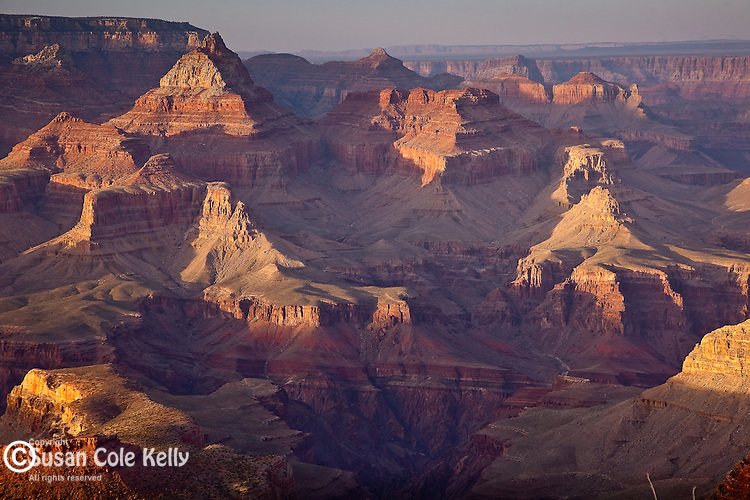 Rock formations of the Grand Canyon seen from Grandview Point, Grand Canyon National Park, AZ, USA