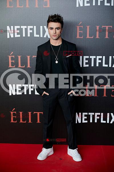 Itzan Escamilla attends to 'Elite' premiere at Museo Reina Sofia in Madrid, Spain. October 02, 2018. (ALTERPHOTOS/A. Perez Meca) /NortePhoto.com NORTEPHOTOMEXICO