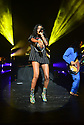 MIAMI BEACH, FLORIDA - NOVEMBER 06: Racquel Jones of Thievery Corporation in concert at Fillmore Miami Beach at the Jackie Gleason Theater on November 06, 2019 in Miami Beach, Florida.  ( Photo by Johnny Louis / jlnphotography.com )